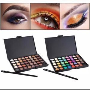 Makeup Palette Cosmetic Matte Eyeshadow Cream Eye